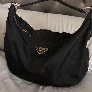 Prada hobo bag mesh material great condition